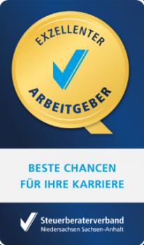 Steuerberaterverband Auszeichnung - Exzellenter Arbeitgeber m-med